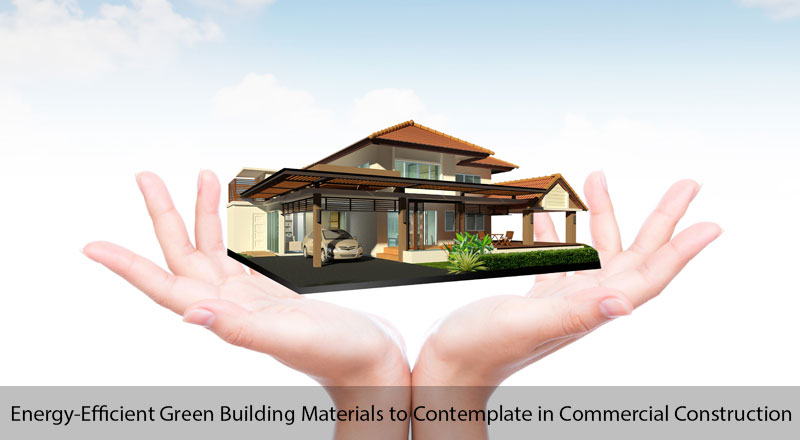 5 top energy efficient green building materials to for Best material to build a house
