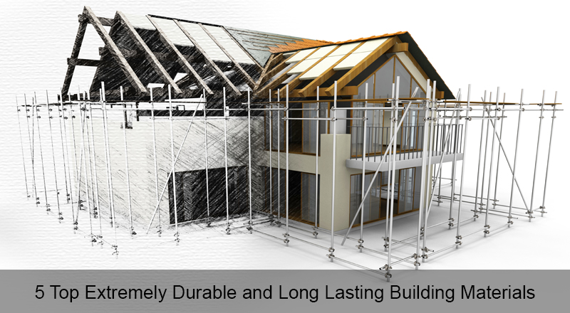 5 top extremely durable and long lasting building materials for House building options